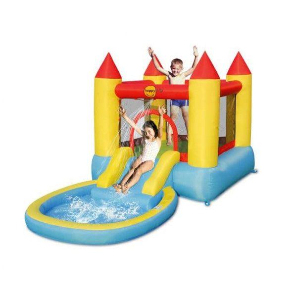 Noleggio gonfiabile castello con piscina